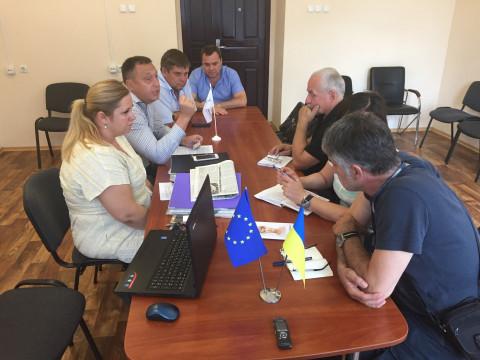 Встреча с представителями ОБСЕ