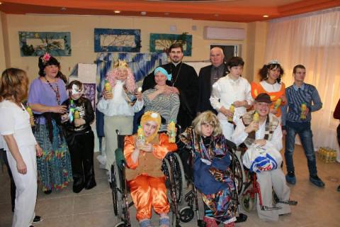 Воспитанники детского дома-интерната подготовили развлекательную программу для своих друзей и гостей