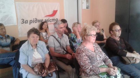 Активисты Саксаганского района обсудили планы на текущий месяц