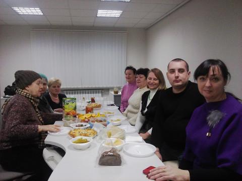 Активисты Центрально-Городской организации собрались для очередного подведения итогов