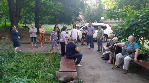 Дорогу – молодым и порядочным. Жители поддержали кандидата в нардепы Вадима
