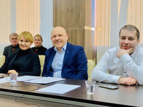 В центральном офисе Криворожской городской организации ВО «Батьківщина» проведено селекторное совещание