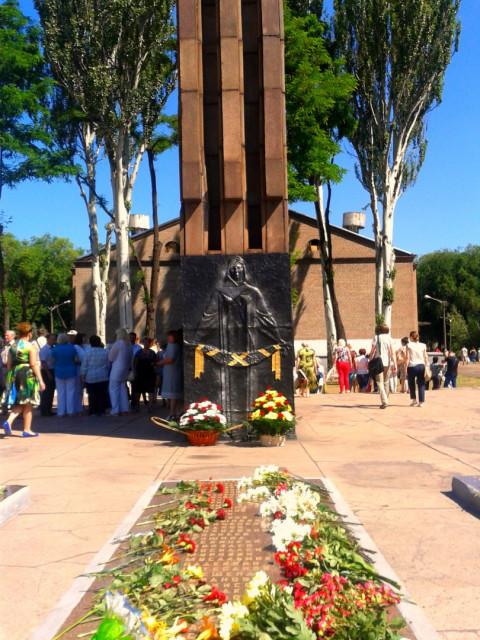 Представители «ЗА РІДНЕ МІСТО» почтили память героев-освободителей
