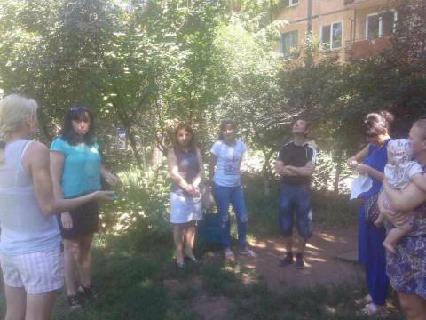 Жители улицы Лермонтова просят восстановить детскую площадку