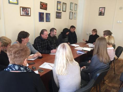 Ольга Бабенко провела совещание с руководителями районных организаций, депутатами городского и районных советов ВО «Батьківщина»