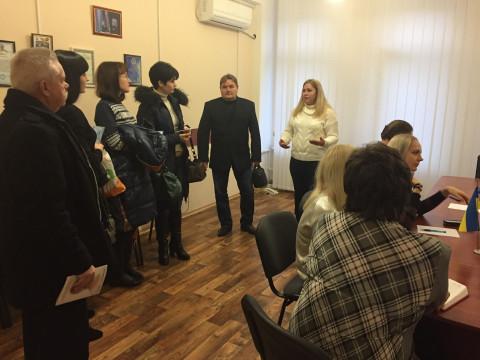 Состоялось расширенное совещание актива ОО «ЗА РІДНЕ МІСТО »