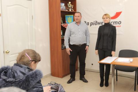 Ольга Бабенко: «Сила организации «За рідне місто» в системной работе и сплоченной команде»