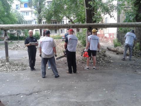 Без промедления.  Ольга Бабенко помогла жителям справиться с последствиями стихии