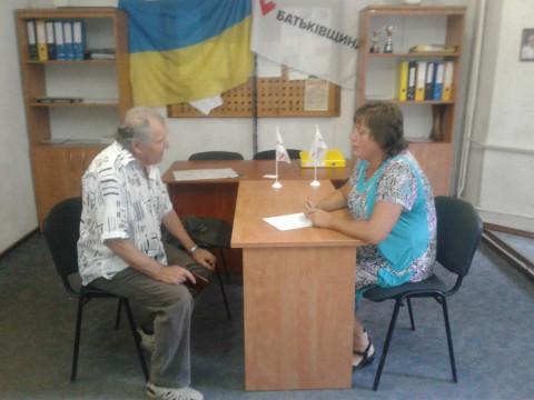 Катерина Плотникова провела плановый прием граждан