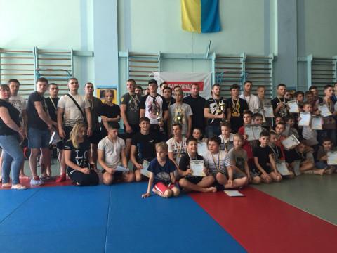 Во Дворце спорта «Молодость» прошёл городской турнир по панкратиону