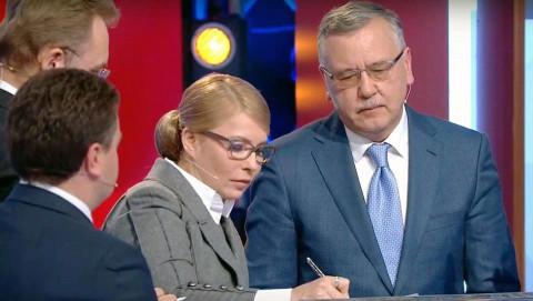 Кандидаты в Президенты Украины подписали Меморандум о честных выборах