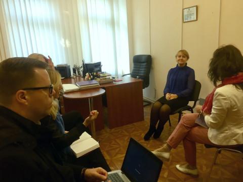 Ольга Бабенко встретилась с представителями миссии ОБСЕ