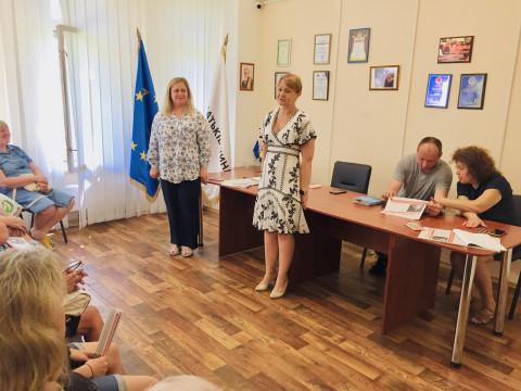 1 июля в общественной приёмной Ольги Бабенко состоялась встреча с активом городской организации ВО «Батьківщина»