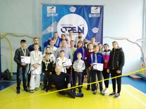 Определились победители «KRYVYI RIH OPEN 2017»