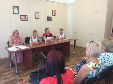 Ольга Бабенко провела ряд встреч с окружными партийными организациями
