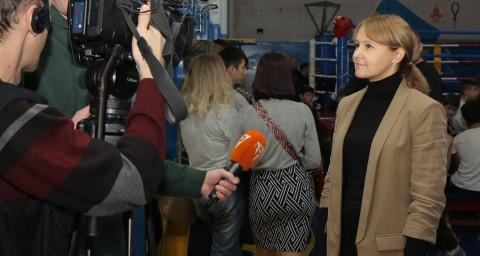 Состоялся чемпионат Днепропетровской области по Кунг-фу
