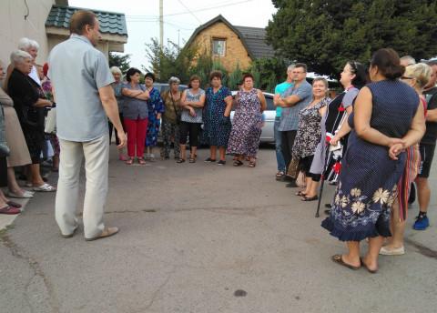 В Центрально–Городском районе прошла встреча с жителями улицы Трубецкого
