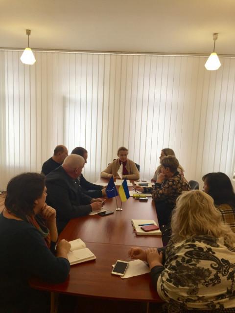 Ольга Бабенко провела совещание с руководителями районных организаций