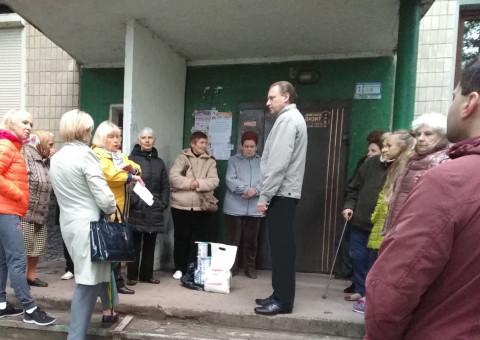 Стройматериалы – для жильцов дома по Свято-Николаевской