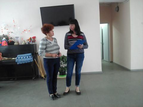 Наталья Ярковская провела очередную встречу с отдыхающими Территориального центра социального обслуживания