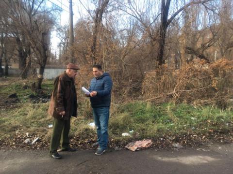 Депутат «ЗА РІДНЕ МІСТО» принял очередную коллективную жалобу на ТОВ «Ситисервис-КР»